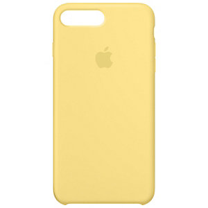 Apple iPhone 7 Plus fodral silikon (pollen gul)