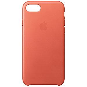 Apple iPhone 7 fodral läder (pelargon rosa)