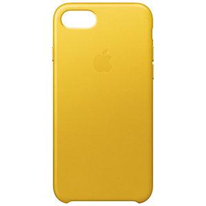 Apple iPhone 7 fodral läder (solros gul)