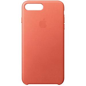 Apple iPhone 7 Plus fodral läder (pelargon rosa)