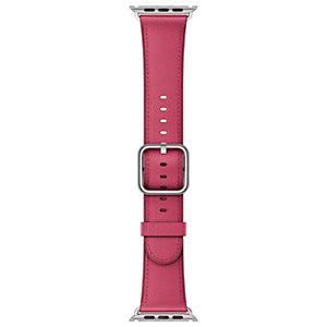 Apple 42 mm classic läderarmband (rosa)