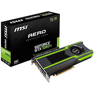 MSI GeForce GTX 1080 Ti Aero OC grafikkort (11 GB)