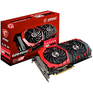 MSI Radeon RX 570 Gaming X grafikkort (4 GB)