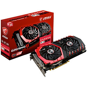 MSI Radeon RX 580 Gaming X grafikkort (8 GB)