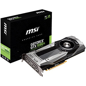 MSI GeForce GTX 1080 Ti FE grafikkort (11 GB)