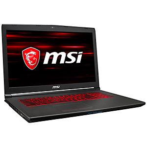 """MSI GV72 8RD-027NE 17,3"""" bärbar gamingdator"""