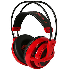 SteelSeries Siberia v2 MSI gaming headset (röd)