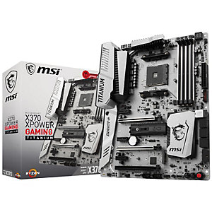 MSI X370 XPower Gaming Titanium moderkort