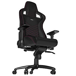 Noblechairs Epic gamingstol (sort/rosa)