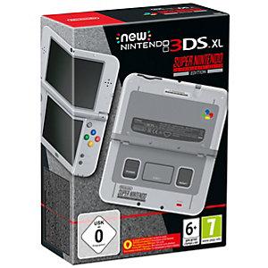 New Nintendo 3DS XL spillkonsoll SNES edition