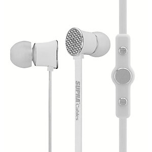 SUPRA NiTRO hodetelefoner (hvit)