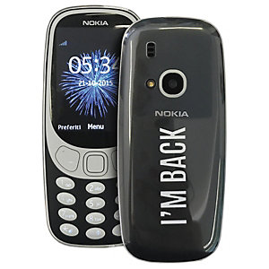 Puro 0.3 Nokia 3310 suojakuori (läpinäkyvä)