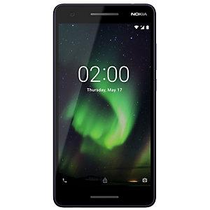 Nokia 2.1 älypuhelin (sininen/hopea)