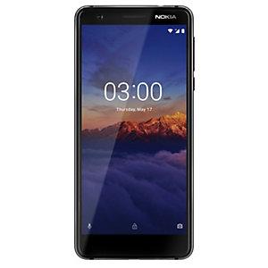 Nokia 3.1 (2018) smarttelefon (sort)