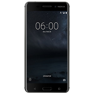 Nokia 6 smartphone (svart)