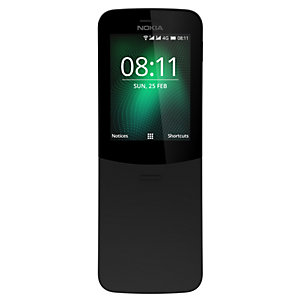 Nokia 8110 4G (svart)