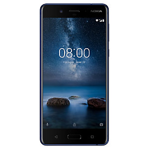 Nokia 8 smartphone (blå)