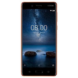 Nokia 8 smartphone (blank koppar)