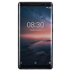 Nokia 8 Sirocco smartphone (svart)