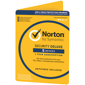Norton Security Deluxe (5 enheter)