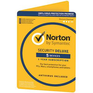 Norton Security Deluxe (5 laitetta)