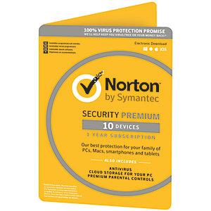 Norton Security Premium (10 laitetta)