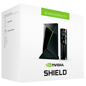 NVIDIA SHIELD TV 4K + fjärrkontroll