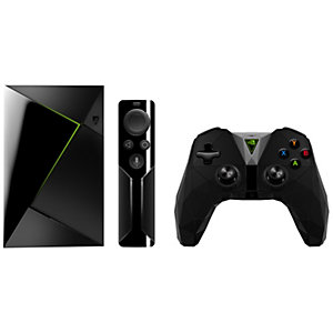 NVIDIA SHIELD TV + spillkontroller