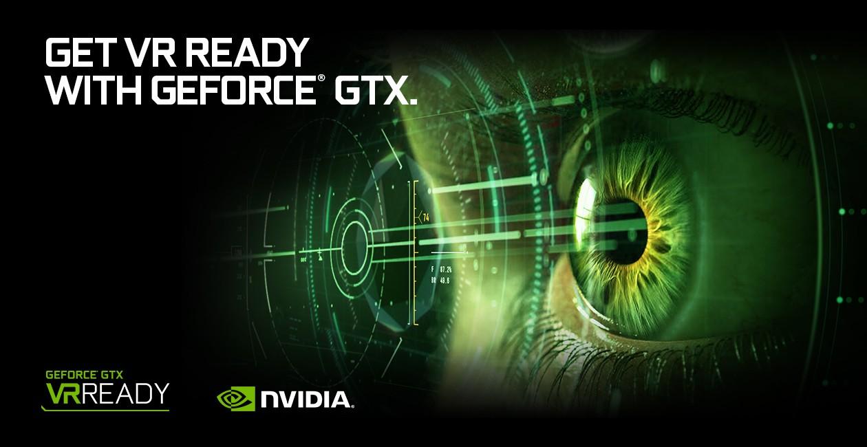 Bli VR-klar med GeForce GTX