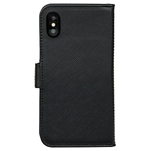 Dbramante New York iPhone X fodral (svart)
