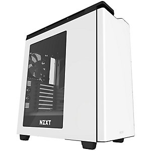 NZXT H440W 2017 datorchassi (vit/svart/fönster)