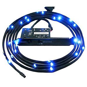 NZXT flätad blå kabel LED belysning (1 m)