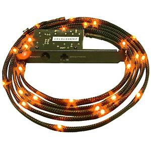 NZXT oransje LED-kabelsett m/kabeltrekk (1 m)