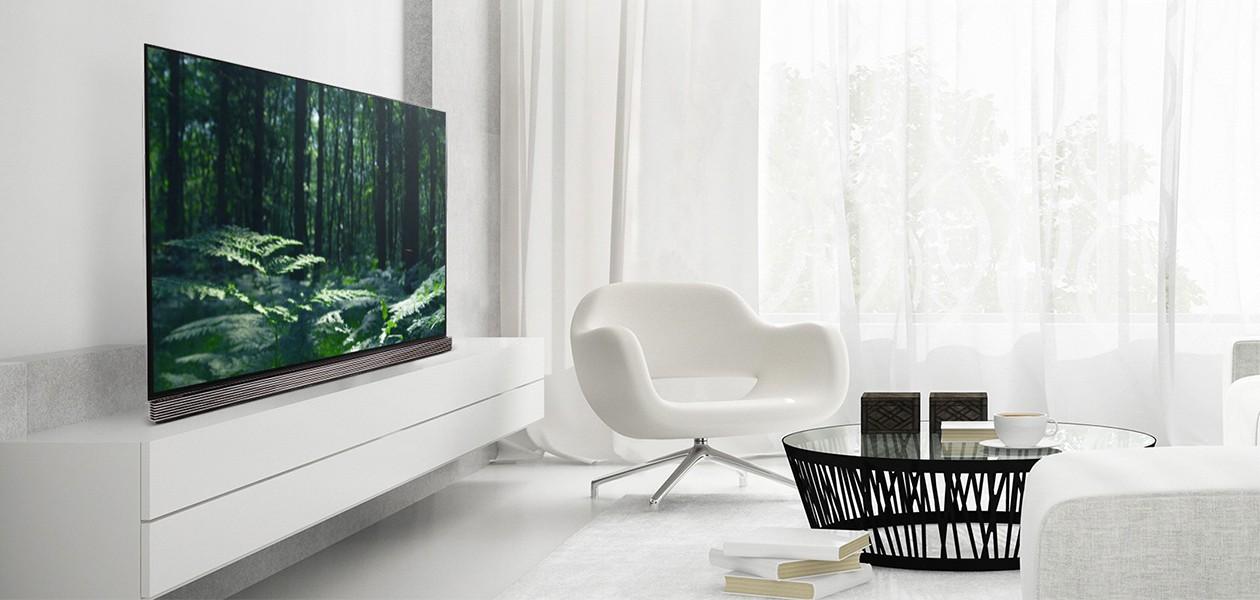 OLED-TV - hyvä katselukulma