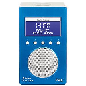 Tivoli Audio PAL+ BT bærbar radio (blå)