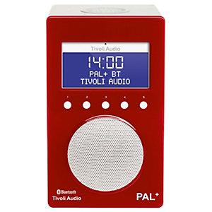 Tivoli Audio PAL+ BT bærbar radio (rød)