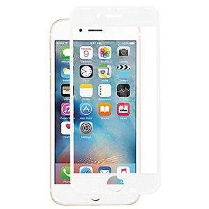Panzer Curved Silicate Glass for iPhone 6/6S (hvit)