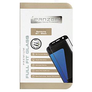 Panzer Curved Glass Skärmskydd Samsung Galaxy S7 svart