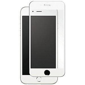 Panzer Skärmskydd Full Fit Glass iPhone 7 (vit)