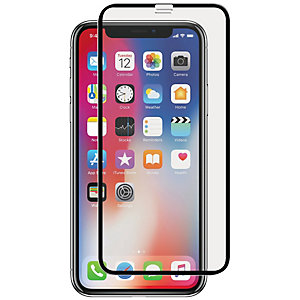 Panzel Curved Silicate Glass iPhone X (musta)