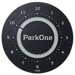 ParkOne 2 Parkeringsbricka (svart)