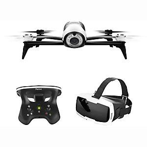 Parrot Bebop 2 drone + FPV-sett (hvit)