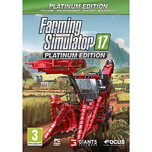 Farming Simulator 17: Platinum Edition (PC)
