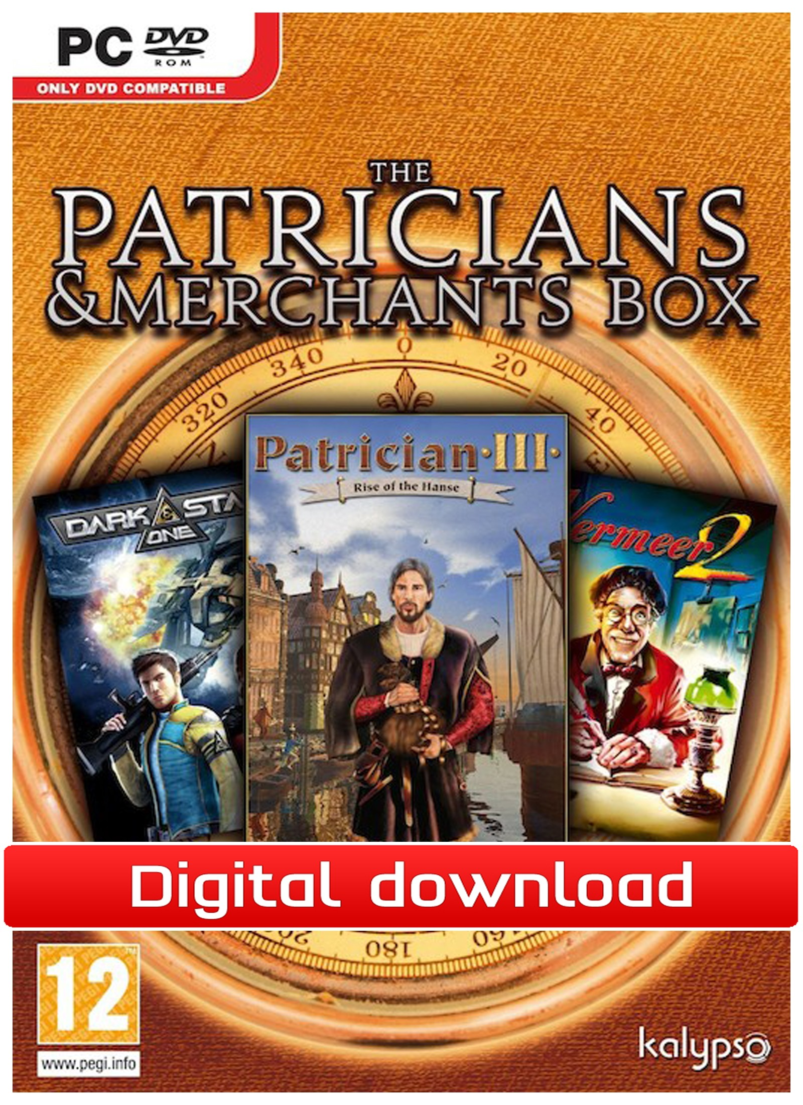 20945 : Patricians & Merchants (PC nedlastning)