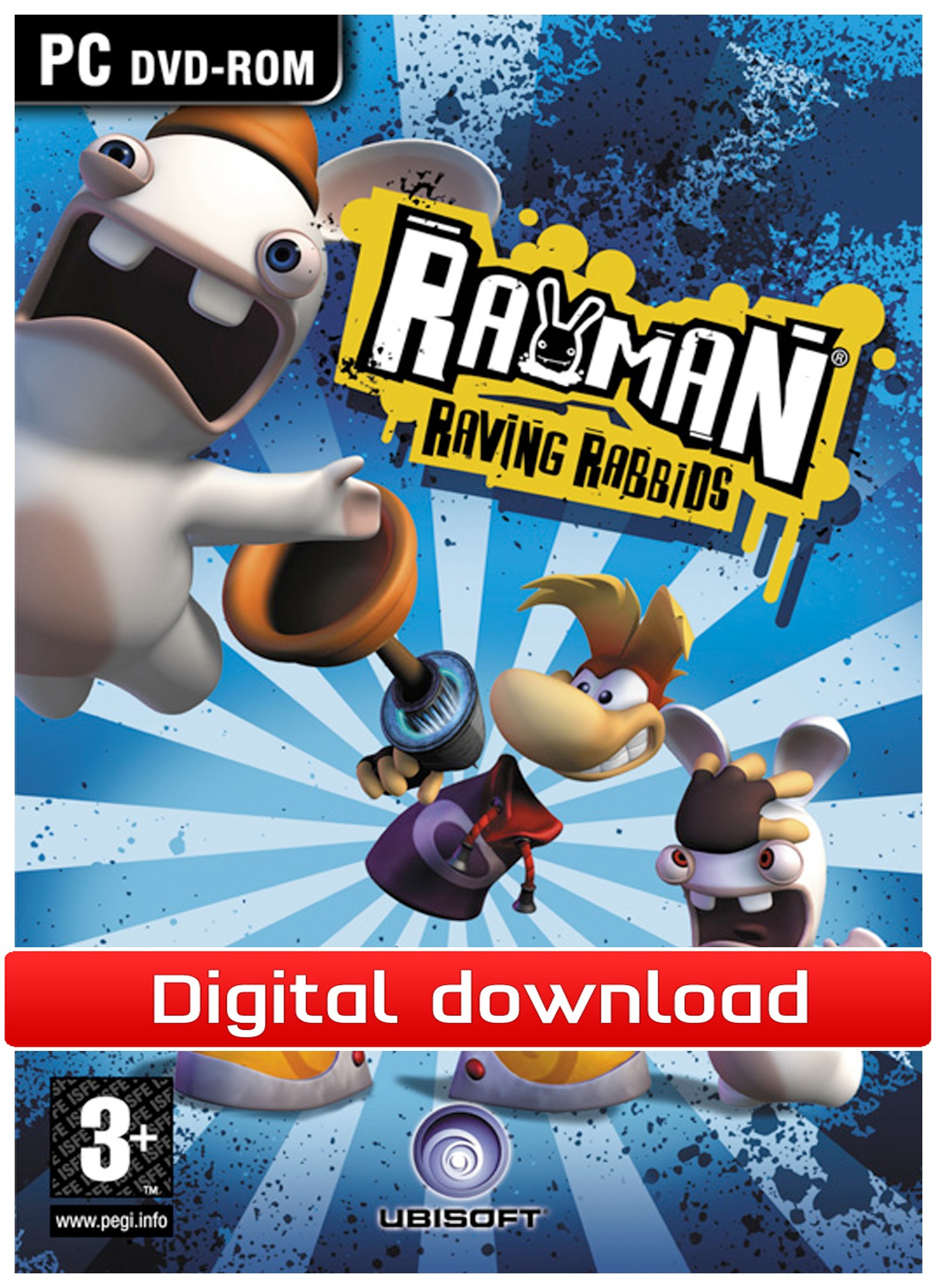 Rayman: Raving Rabbids (PC nedlastning) PCDD22558
