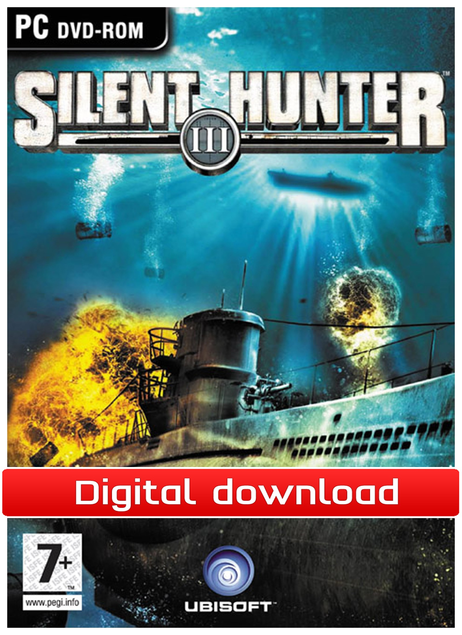 38800 : Silent Hunter III (PC nedlastning)