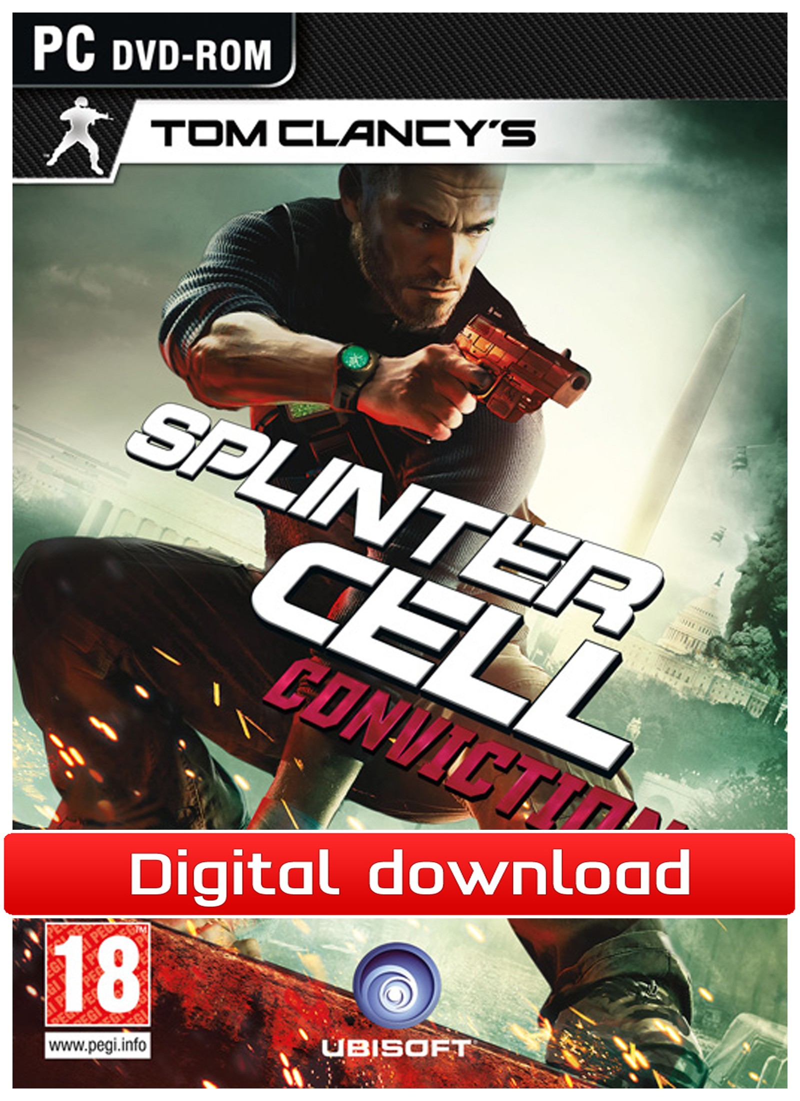 22595 : Splinter Cell: Conviction (PC nedlastning)