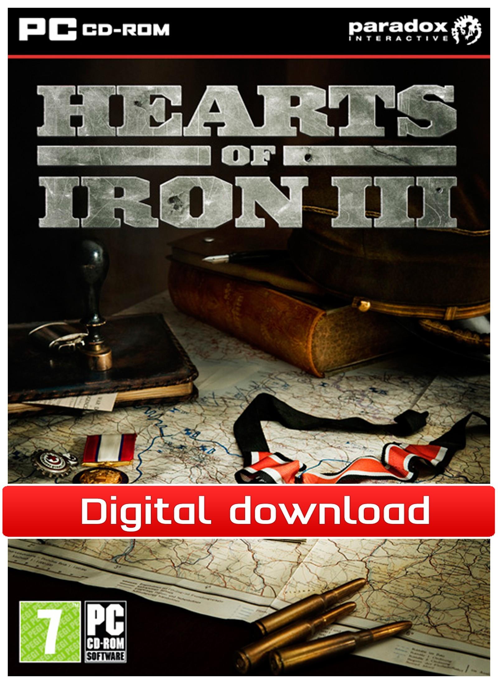 22636 : Hearts of Iron III (PC nedlastning)