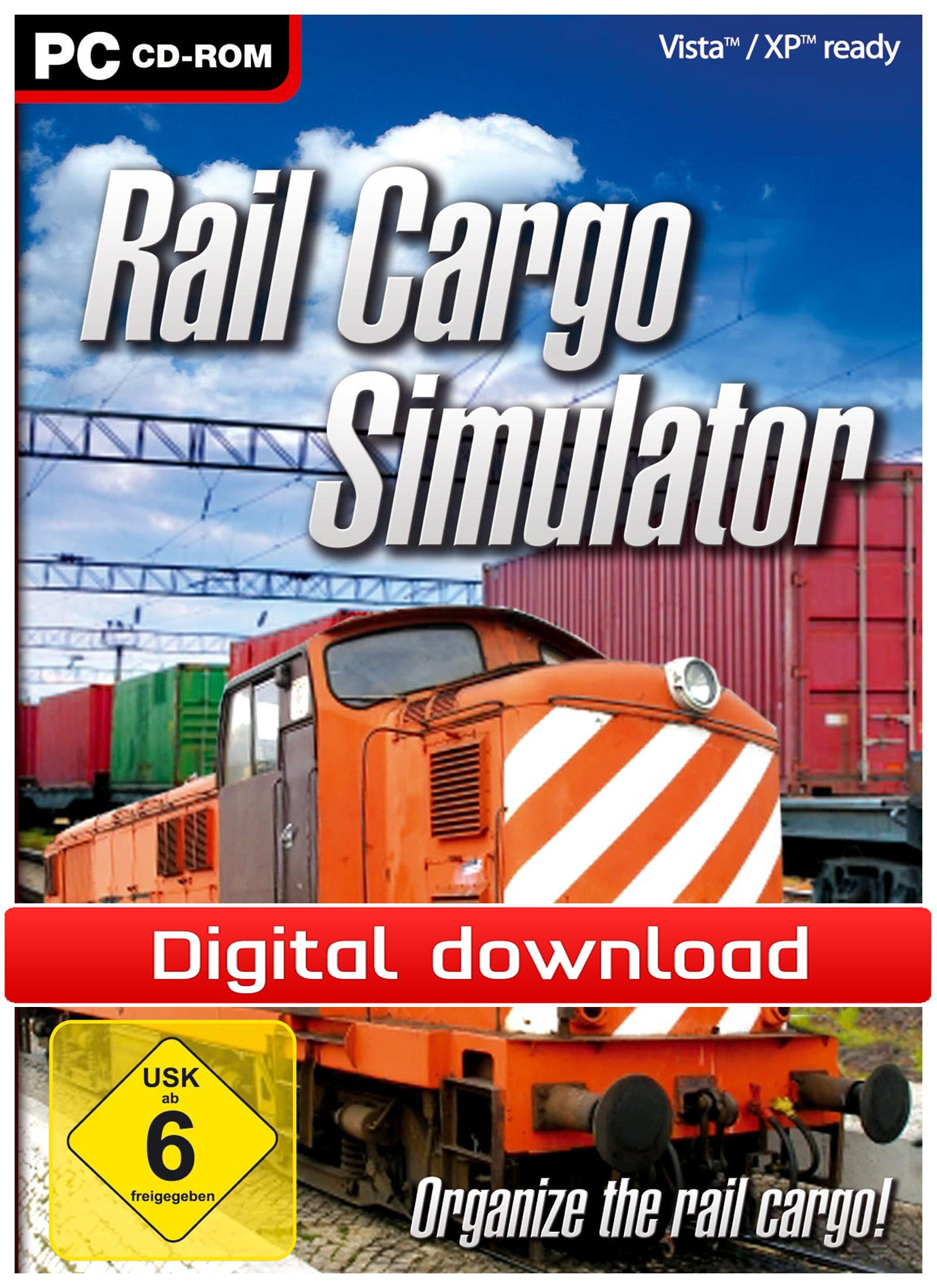 22967 : Rail Cargo Simulator (PC nedlastning)