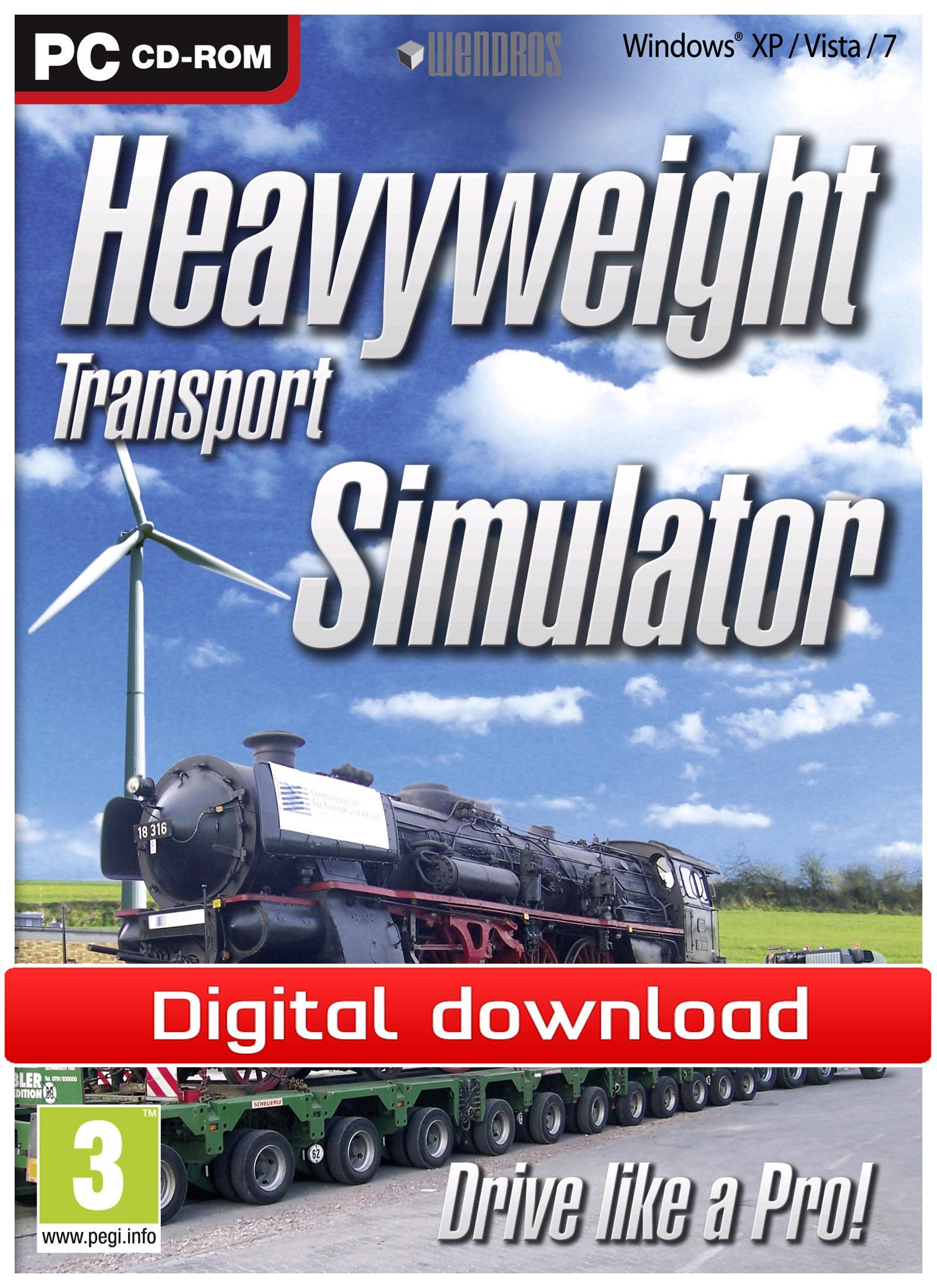 Heavy Weight Transport Simulator (PC nedlastning) PCDD23109